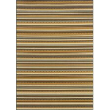 Bali Grey/Gold Stripe Rug