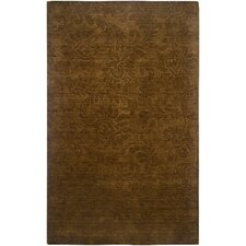 Uptown Brown Solid Rug