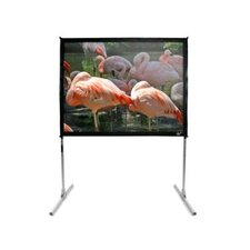 "CineWhite 135"" Overall Width QuickStand Folding Screen - 150"" Diagonal"