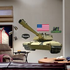M1 Abrams Tank Wall Graphic