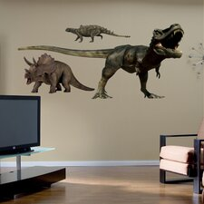 Dinosaurs Group Two Wall Graphic