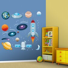 Outer Space Wall Graphic