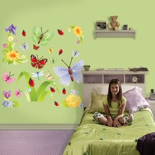 Butterflies Group Two Wall Graphic