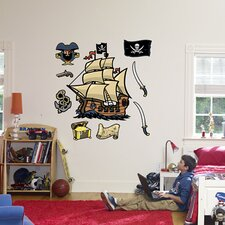 Pirates Wall Graphic