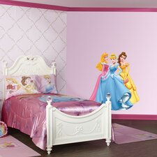 Aurora, Cinderella and Belle Wall Graphic
