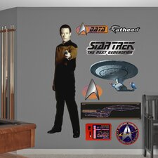 Star Trek Lieutenant Commander Data Wall Graphic