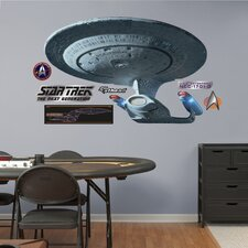 Star Trek USS Enterprise NCC-1701-D Wall Graphic