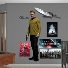 Star Trek Into Darkness James T. Kirk Wall Graphic