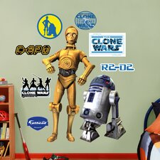 Star Wars C-3PO and R2-D2 Wall Graphic