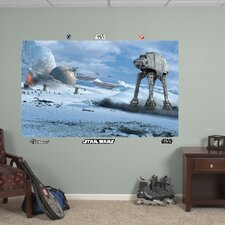 Star Wars AT - AT Battle Wall Mural
