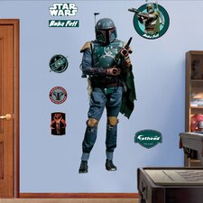 Star Wars Boba Fett Wall Graphic