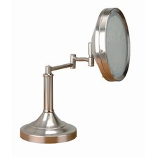 Vogue Make Up Mirror and Table Lamp