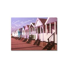 "Gone To The Beach Printed Canvas Art - 20"" X 28"""