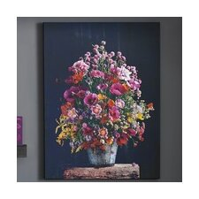 Bright Floral Canvas Wall Art