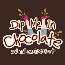 Dip Me in Chocolate Apron
