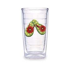 Flip Flop 16oz. Green Tumbler (Set of 4)
