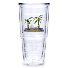 Palm and Hammock 24 oz. Tumbler (Set of 2)