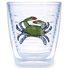 Blue Crab 12 oz. Tumbler (Set of 4)