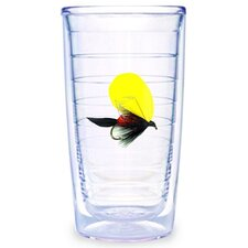 Fish Flies Yellow 16 oz. Tumbler (Set of 4)