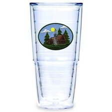 Log Cabin 24 oz. Big-T Tumbler (Set of 2)