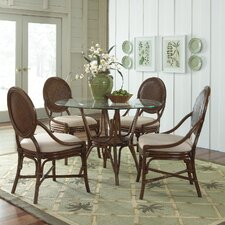 Rattan Oyster Bay 5 Piece Dining Set