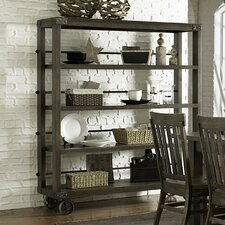 Karlin Kitchen Cart with Wood Top