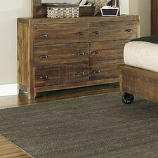 River Ridge 6 Drawer Dresser