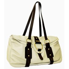Virtue Weekend Carrier in Cream with Chocolate