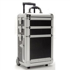 3-Tray Beauty Case with Movable Dividers