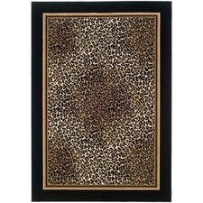 Everest Leopard Novelty Rug