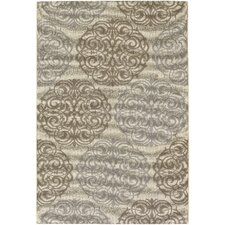 Five Seasons Cream/Sky Blue Montecito Rug