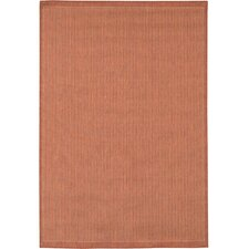 Recife Saddle Stitch/TerracottaNatural Rug