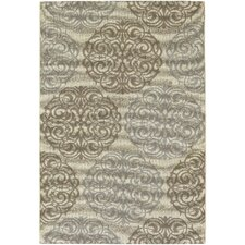 Five Seasons Cream / Sky Blue Montecito Rug