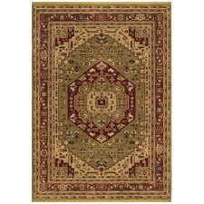Renaissance Bergamo Light Green Rug