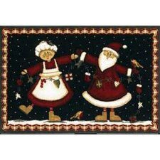 Home for the Holidays Mr. And Mrs. Novelty Rug