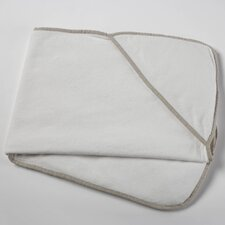 Linen and Terry Hooded Towel Baby