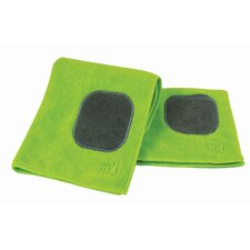MUmodern Dish Cloth and Towel in Grass (Set of 2)