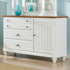 Sunset Hill 4 Drawer Combo Dresser