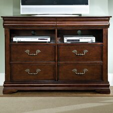 WestDresserer 4 Drawer Media Dresser