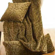 Arturo Sculpted Faux Fur Decorative Pillow