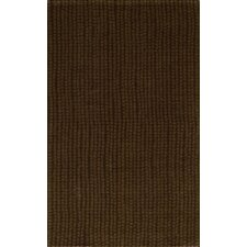 Delhi Stripe Brown Rug