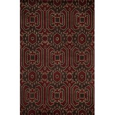 Habitat Brown Ikat Rug