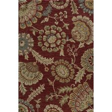 Summit Brick Bold Floral Rug