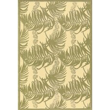 Botanical Lacey Ferns Rug
