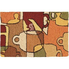 Coffee Collage Novelty Rug
