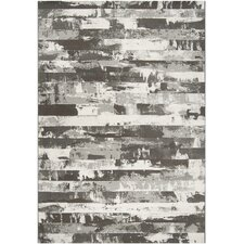 Contempo Gray Stripes Rug