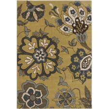 Monterey Dark Yellow/Blue Rug