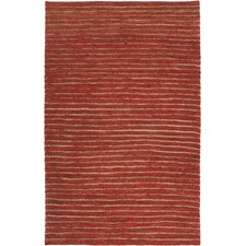 Dominican Rust Red/Blond Rug