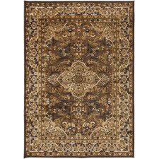 Basilica Dark Brown Rug