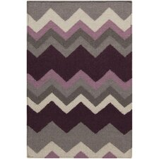 Frontier Prune Purple/Flint Gray Rug